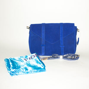 VIOLETTA Royal Blue Messenger Bag