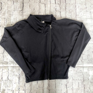 KARMA ATHLETICS Black Zip Up Jacket Size S