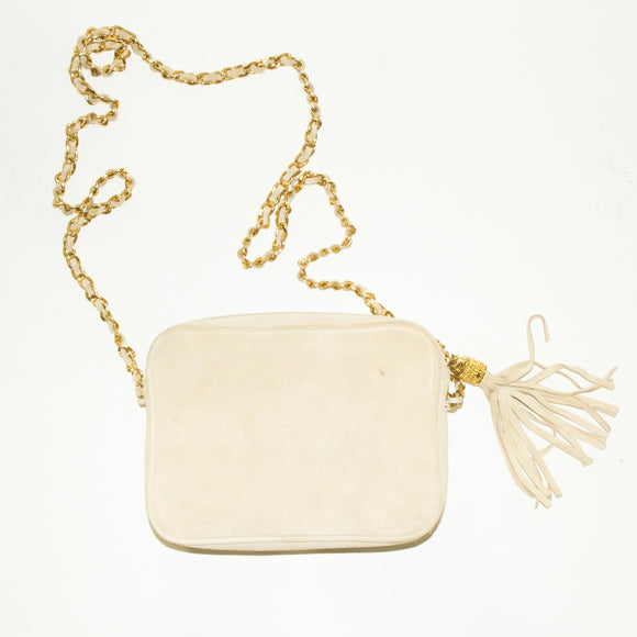 MONDI Cream and Gold Crossbody