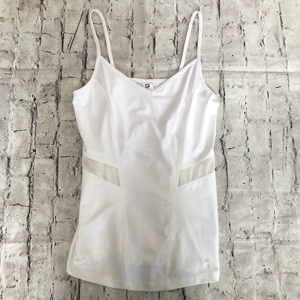 FABLETICS White Narwhal Tank Size XS NWT