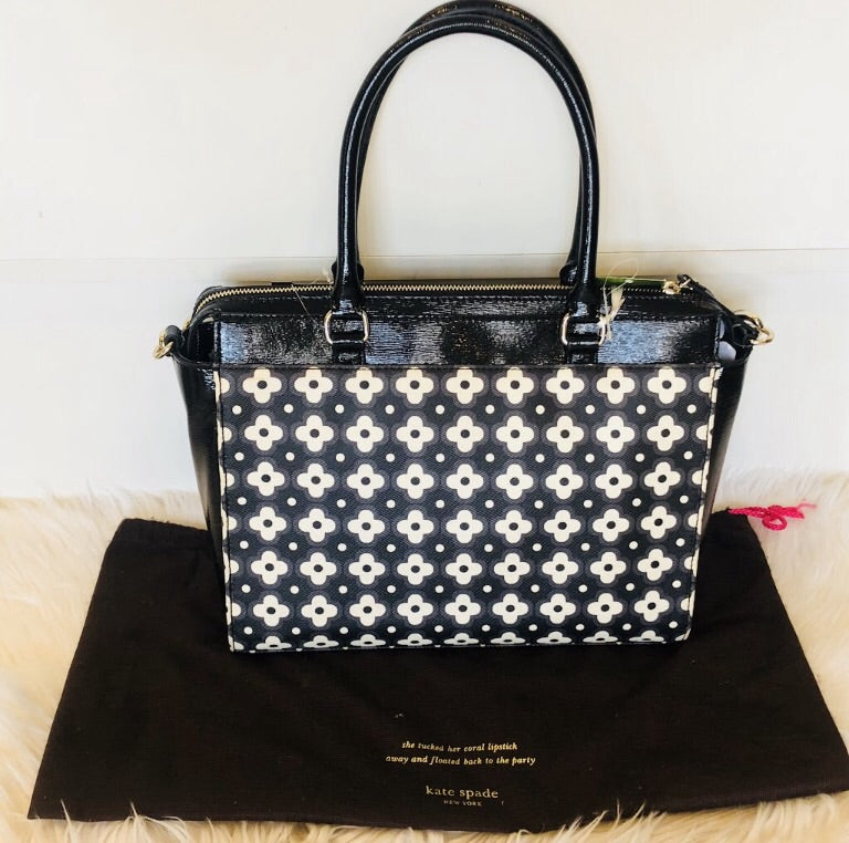 KATE SPADE Jeane Beacon Court Mod Floral Jeanne Tote