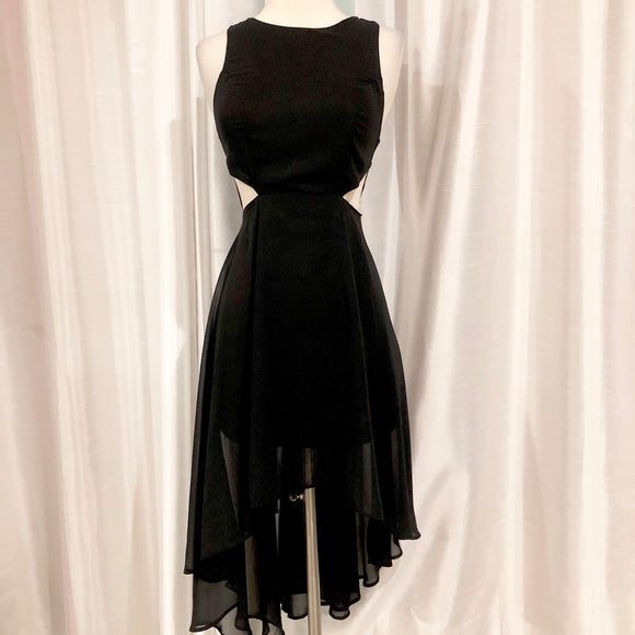 BOUTIQUE Black High-Low Dress Size 6