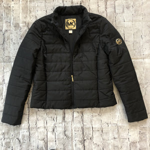Michael Kors Black Puffer Jacket Size Large
