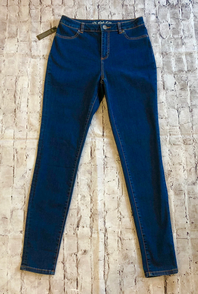 VICTORIAS SECRET SIZE 10 HIGH WAISTED JEANS