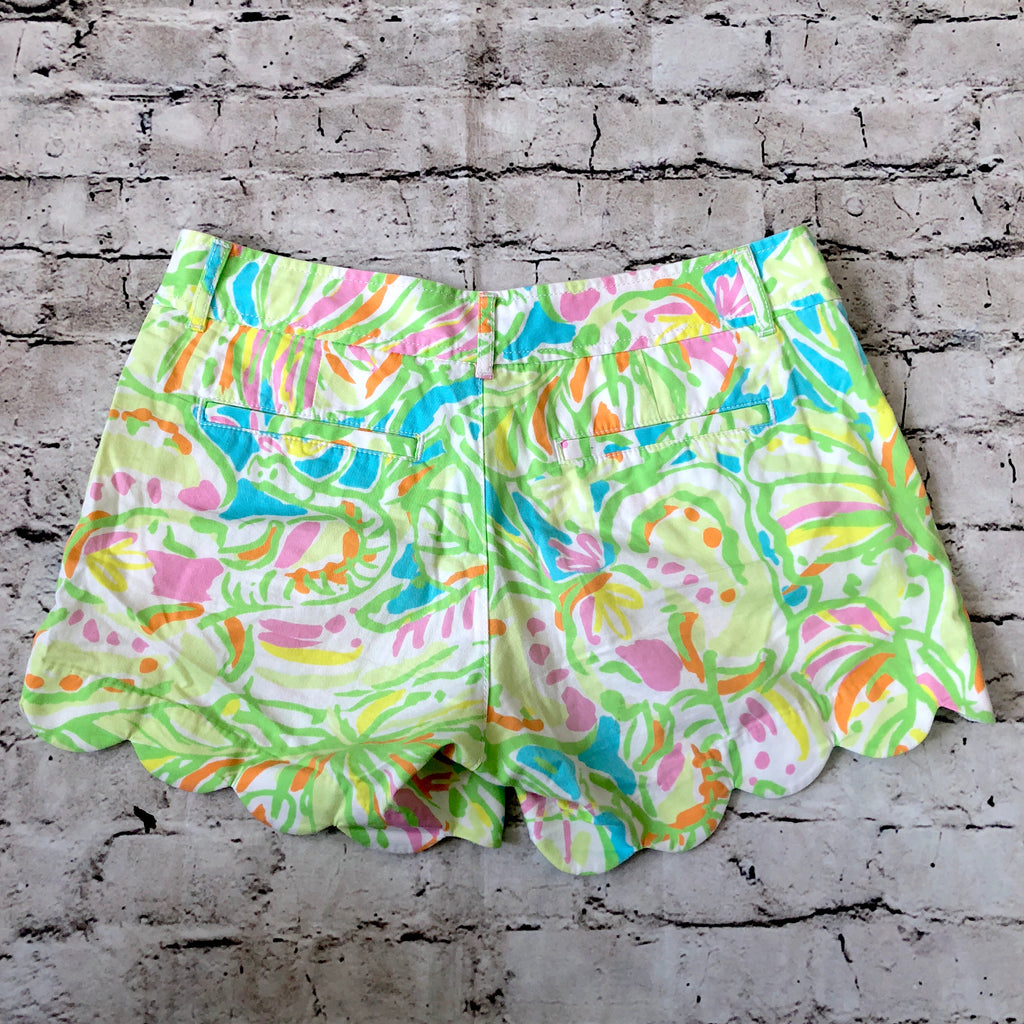 LILLY PULITZER The Buttercup Short Multi-color Size 0