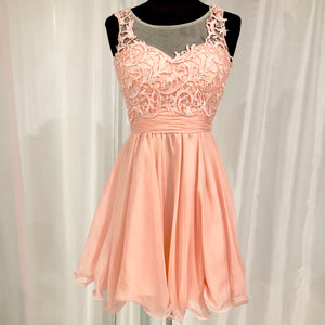 NARIANNA Short Blush Gown Size XS