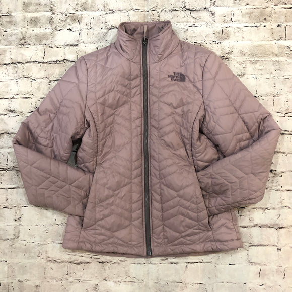 THE NORTH FACE Purple Quilted Purple Lightweight Jacket Size M
