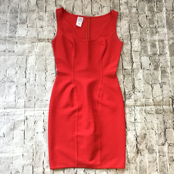 HERVE LEGER PARIS SHORT BODYCON SIZE LARGE