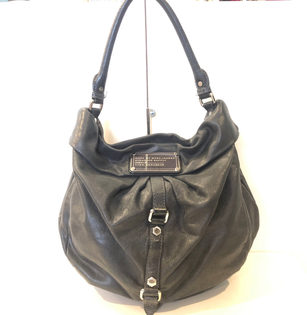 Marc By Marc Jacobs Lil Riz Distressed Hobo Handbag