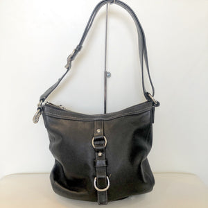 COACH Black Chelsea Duffle Convertible Crossbody