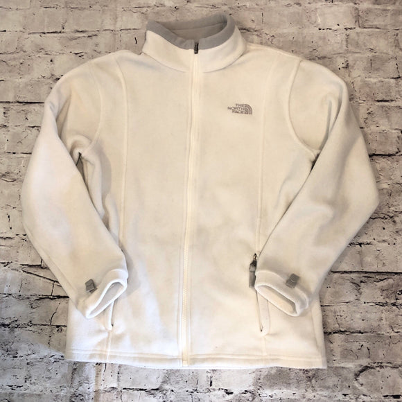 THE NORTH FACE SIZE LARGE ZIP UP JACKET