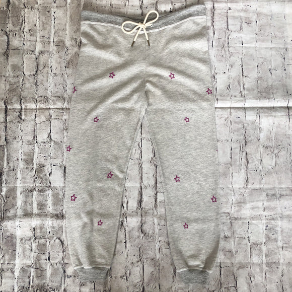 THE GREAT Heather Grey Cropped Sweatpants Size 1 NWT