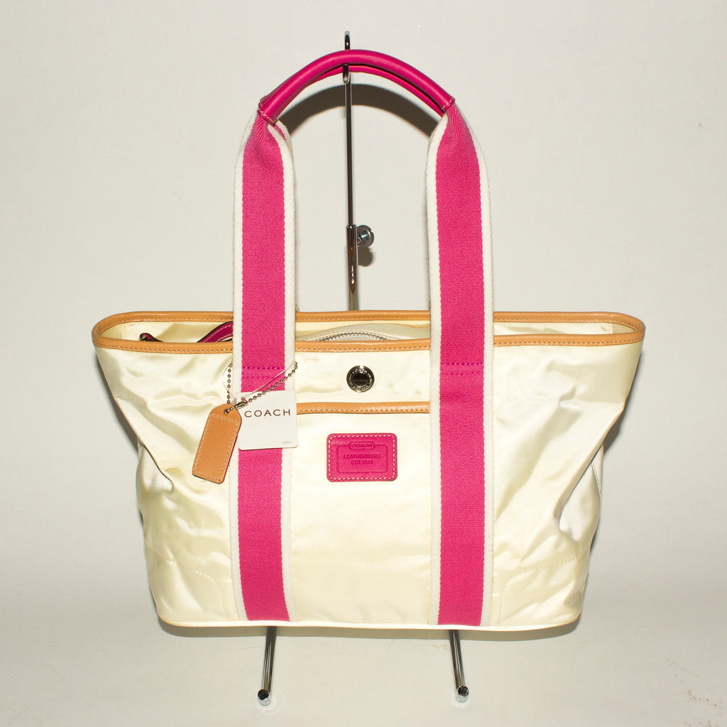 COACH Light Yellow Tote Bag