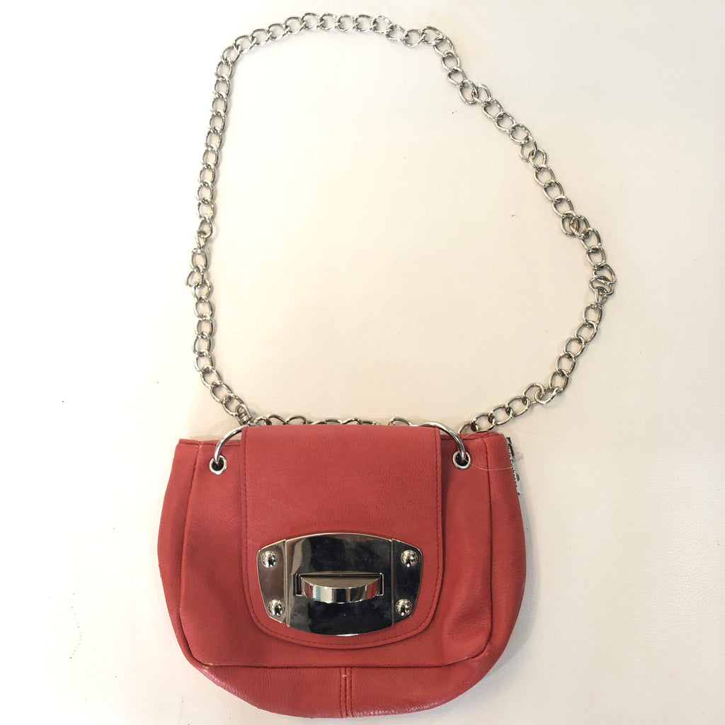 BOUTIQUE Coral Chain Strap Crossbody
