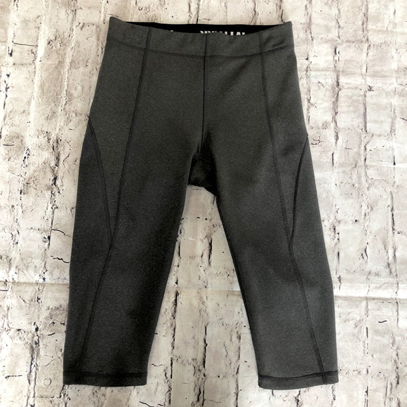 IVY PARK Gray Cropped Leggings Size S