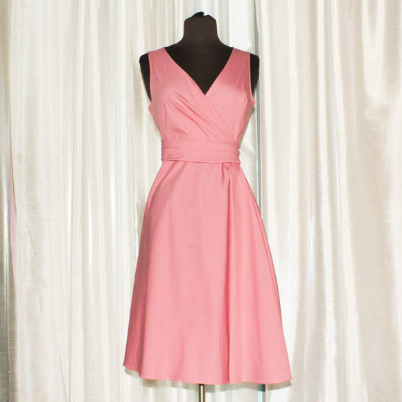 VALENTINO Techno Couture Light Pink Dress