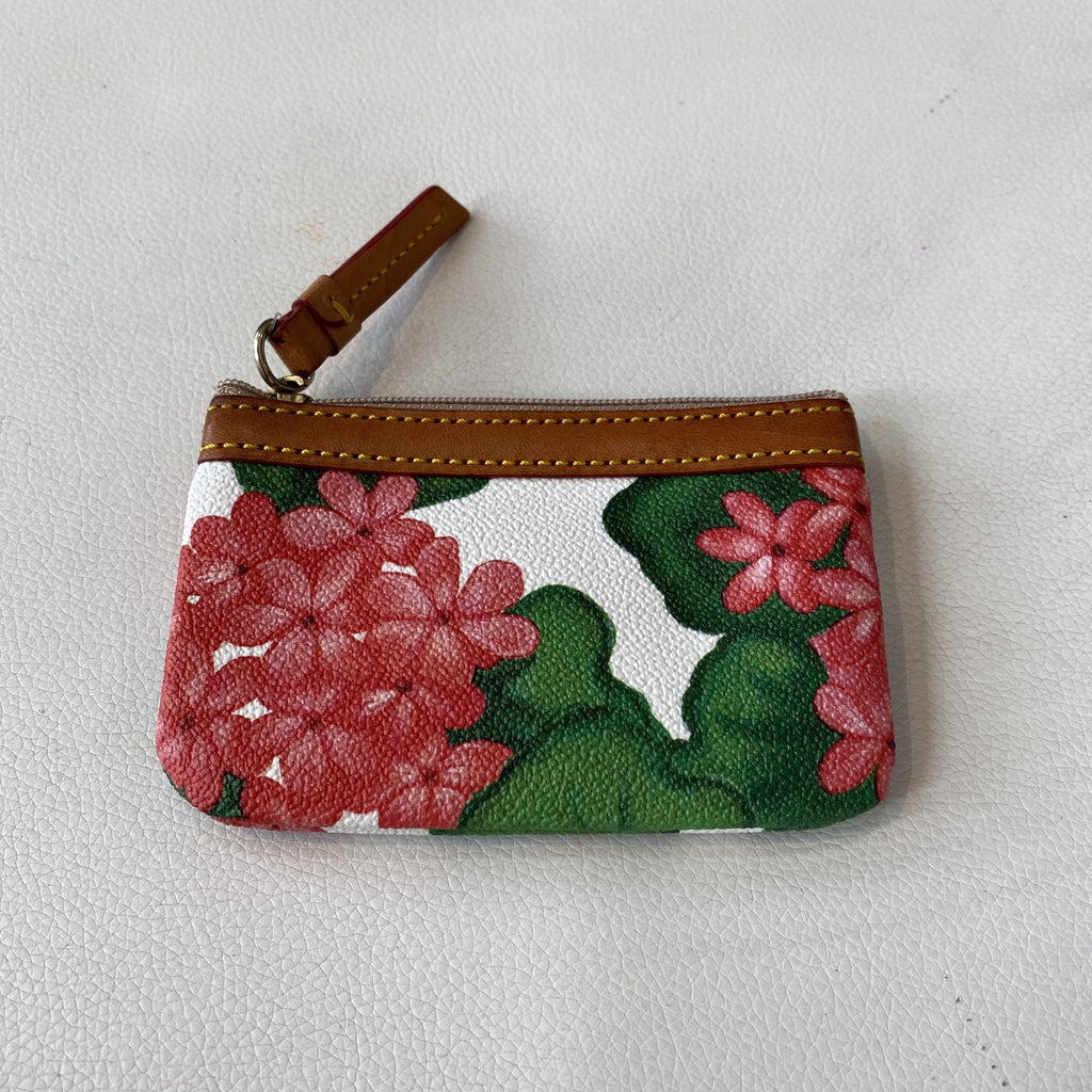 DOONEY & BOURKE Floral Leather Small Wallet