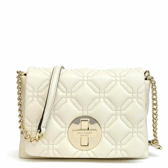 KATE SPADE Astor Court Naomi Bone Leather Crossbody Bag