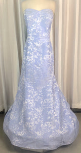 CLARISSE PERIWINKLE GOWN SIZE 18