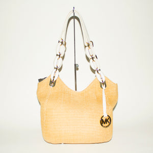 MICHAEL KORS Straw Handbag