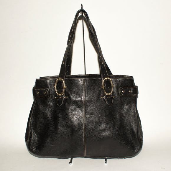 LIZ CLAIBORNE Black Shoulder Bag