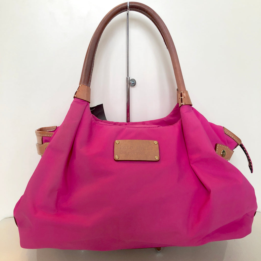 KATE SPADE Hot Pink Nylon Shoulder Bag