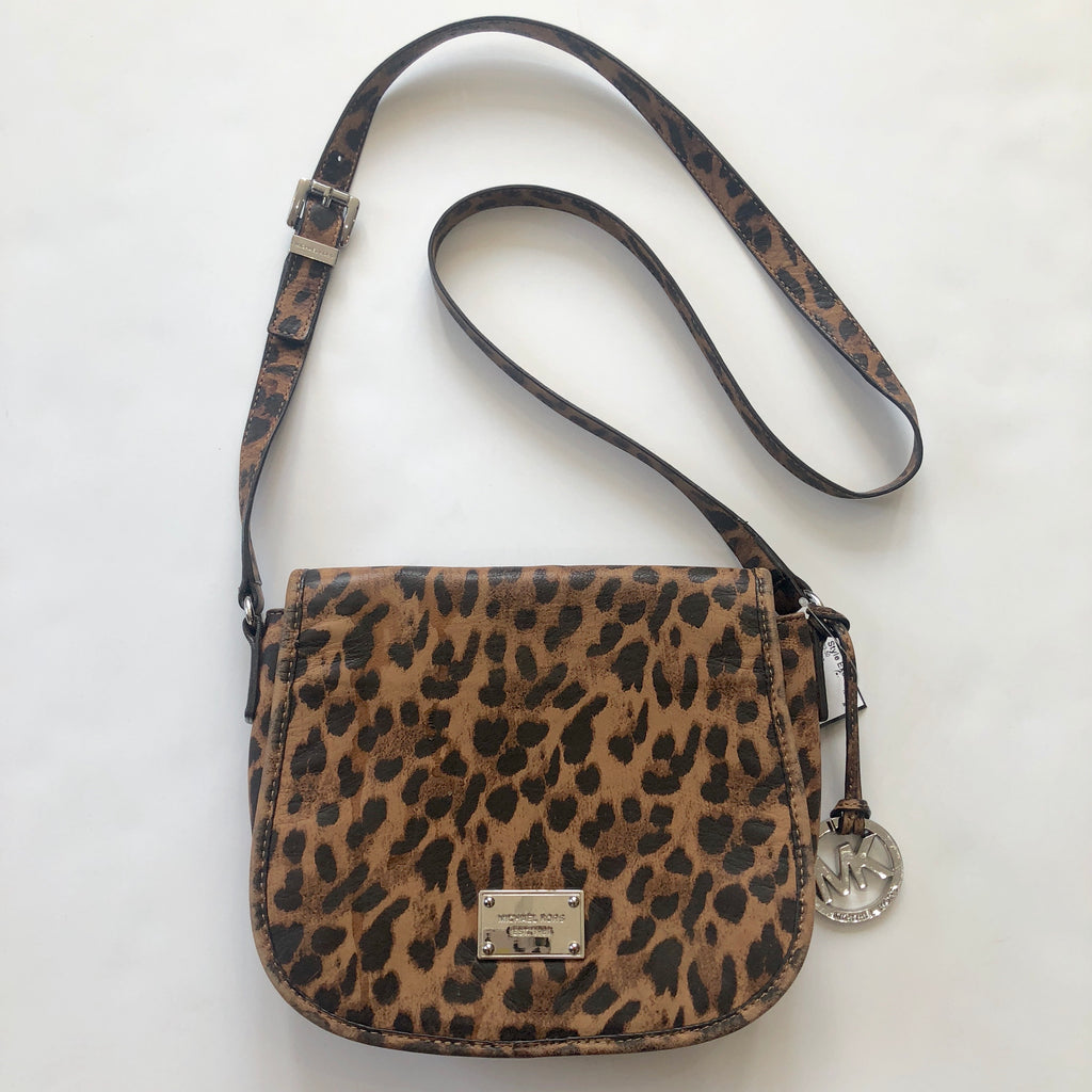 MICHAEL KORS Cheetah Print Crossbody