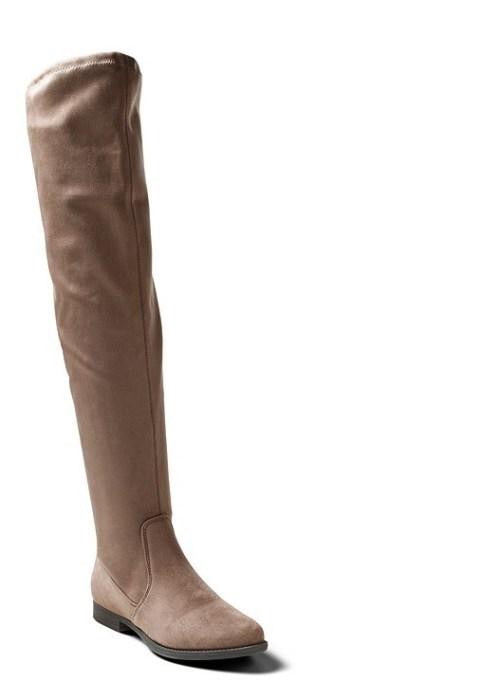 BOUTIQUE Taupe Over The Knee Boot Size 8