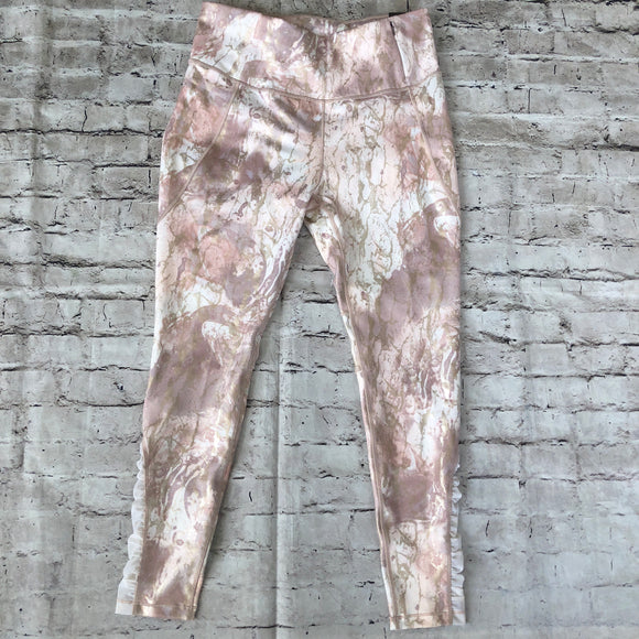 CALIA By Carrie Underwood High Waisted Marbleized Leggings Size L NWT