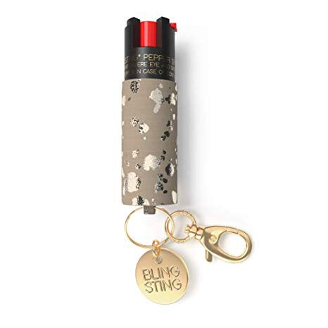 BLINGSTING Vegan Galatic Cowgirl Pepper Spray NIB