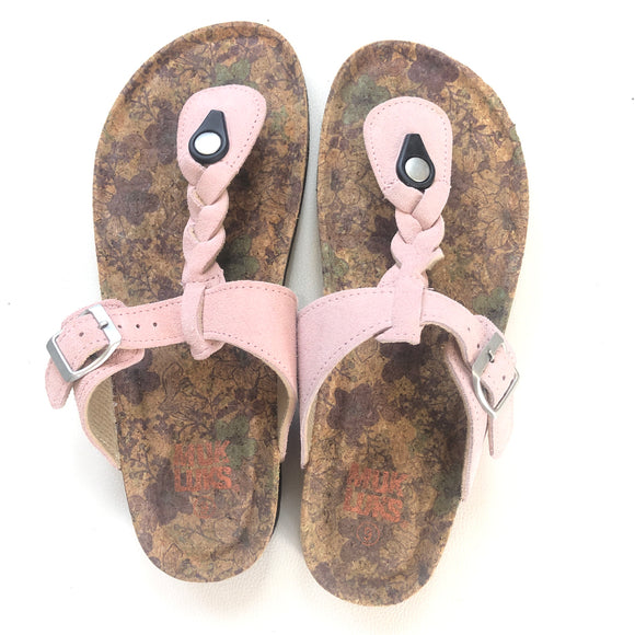 MUK LUK Blush Sandals Size 9