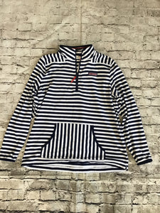 VINEYARD VINES size M Blue and White Striped long sleeves