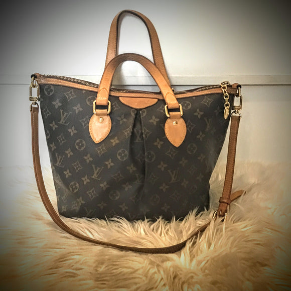 LOUIS VUITTON MONOGRAM PALERMO PM BAG