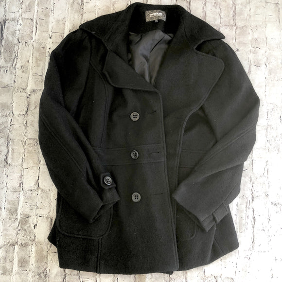 AVENUE Wool Collection Black Jacket Size 22/24