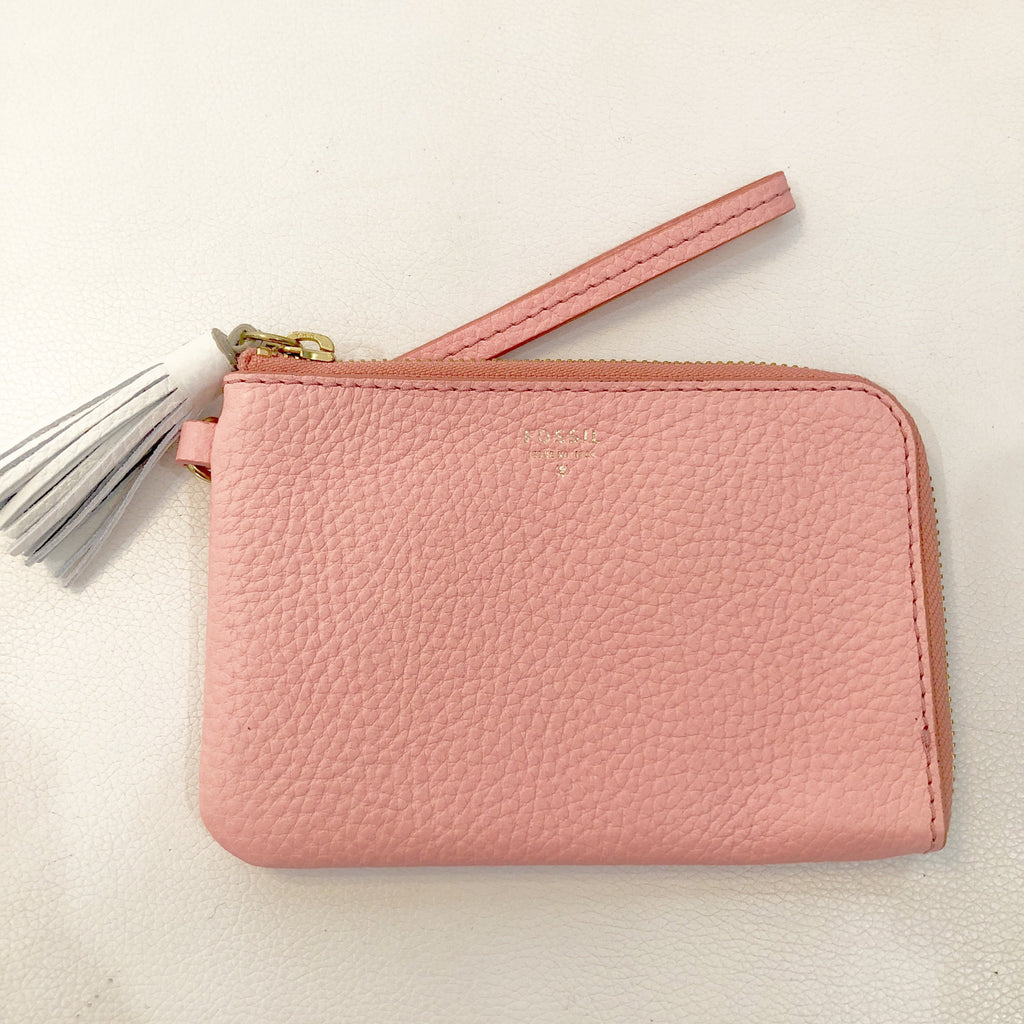 FOSSIL Pink Wristlet