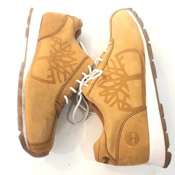 TIMBERLAND Wheat Suede Tennis Shoes Size 6.5