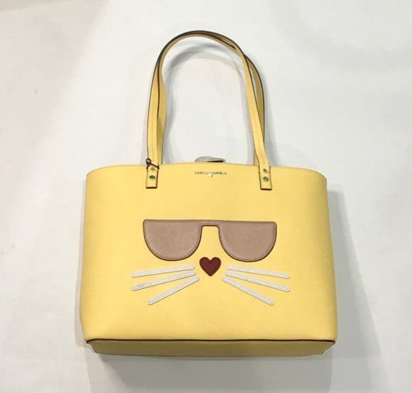 KARL LAGERFELD PARIS Yellow Handbag