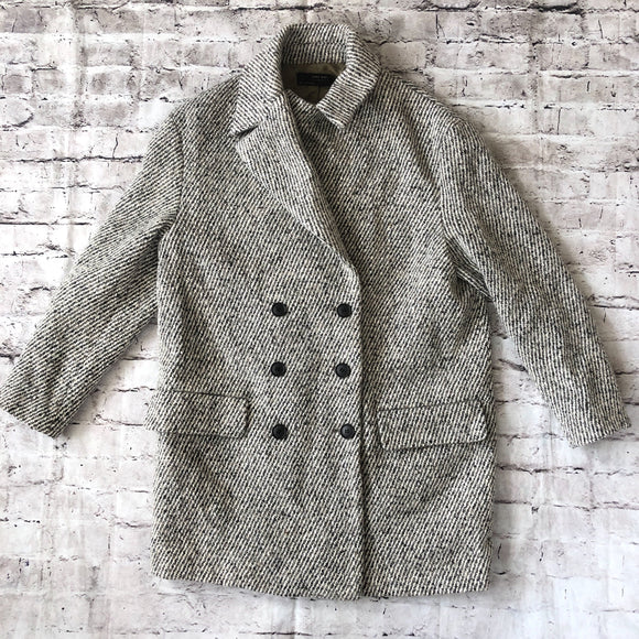 ZARA Tan Tweed Jacket Size S NWT