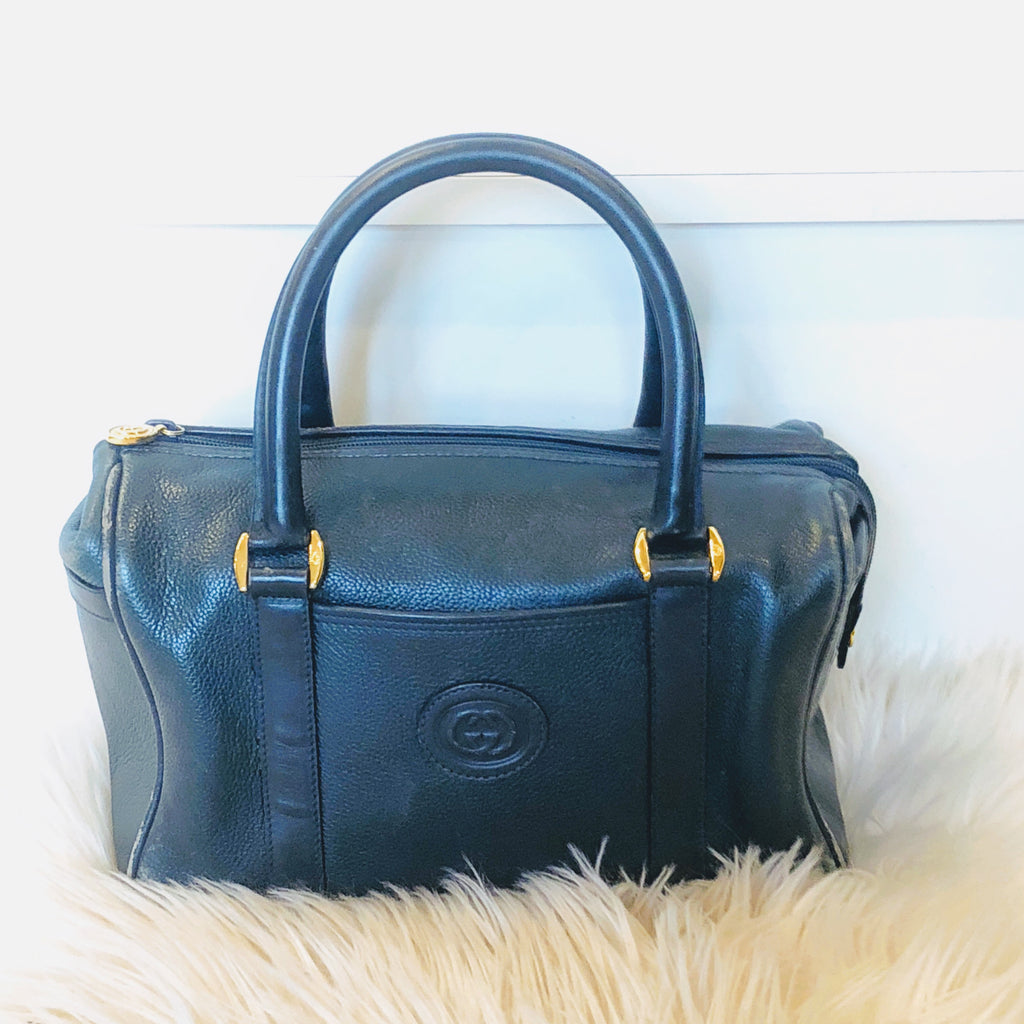 Vintage Gucci Speedy Boston Doctor Bag Style Exchange Boutique Pgh