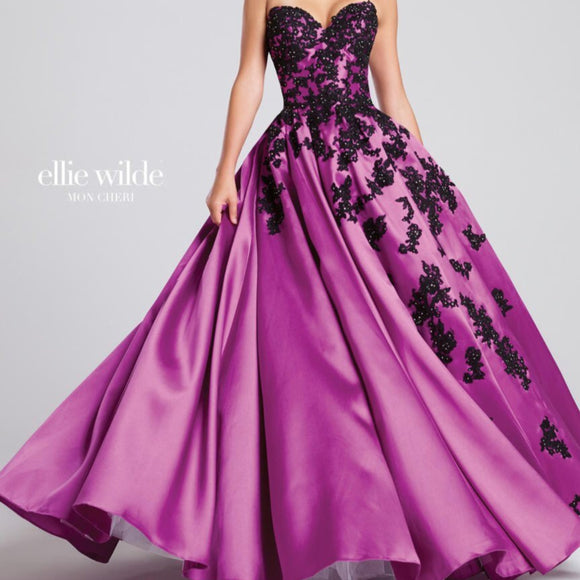 ELLIE WILDE BY MON CHERI BALL GOWN MULTIPLE SIZES