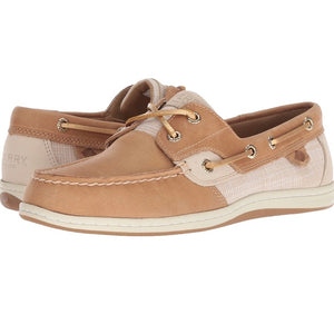SPERRY Women's Koifish Sparkle Crosshatch Boat Shoe Size 9