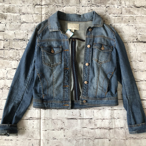 BOUTIQUE Blue Jean Jacket Size S