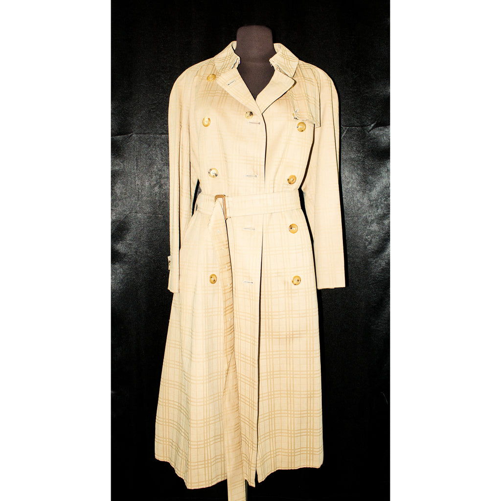 BURBERRY Belted Trench Coat Size 12