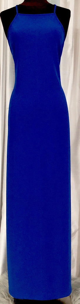 BOSTON PROPER Cobalt Blue Long Dress Size M