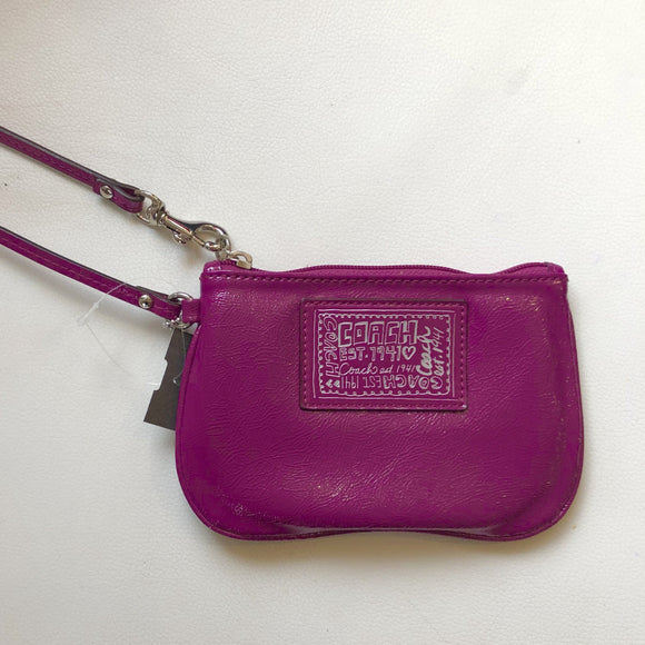 COACH WRISTLET PURPLE