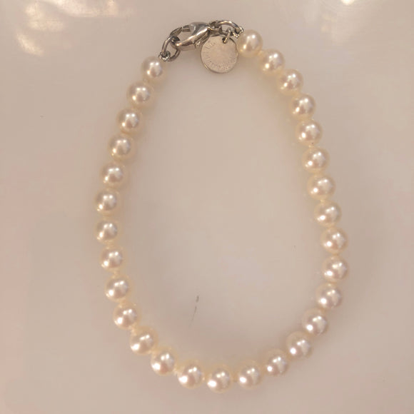 TIFFANY & CO Ziegfeld Collection Pearl Bracelet