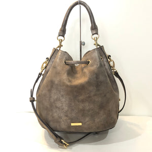 ALDO Dorothy Brown Metallic Bucket Bag