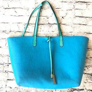 BOUTIQUE Blue & Green Tote