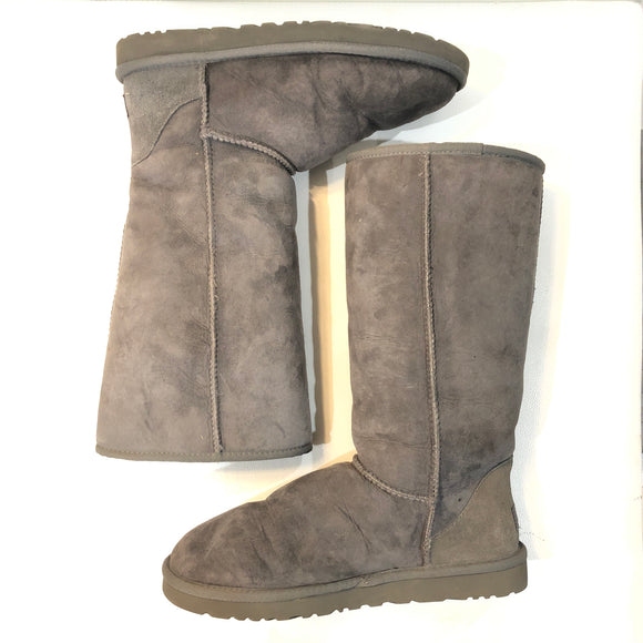 UGG Grey Classic Tall Boots Size 9