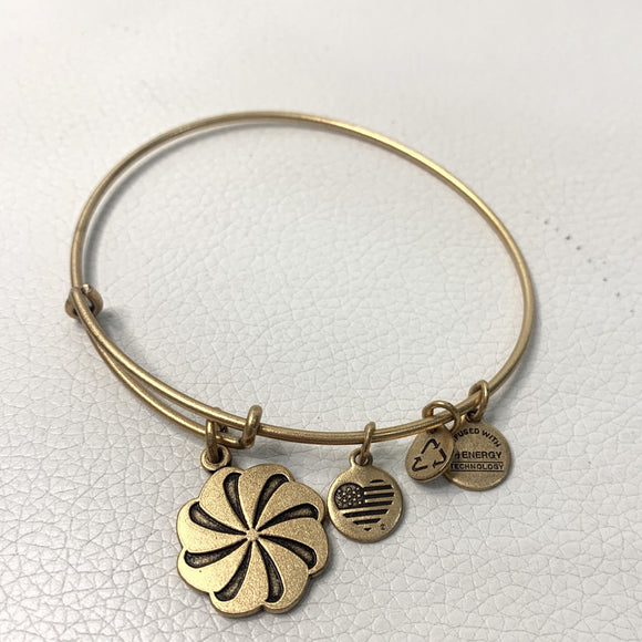 "ALEX AND ANI Gold ""Eternity Symbol"" Charm Bracelet"